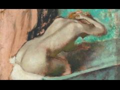"""波士顿美术馆展出""""德加与裸女""""展"""