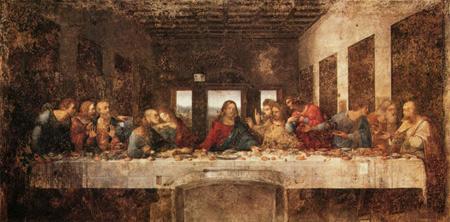 《最后的晚餐》几乎全毁几乎不出自达-芬奇之手