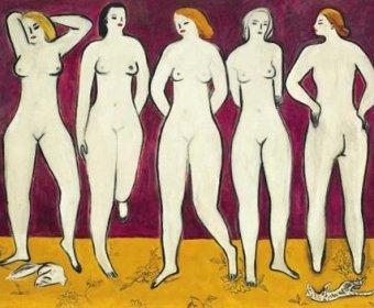常玉《五裸女》将打破价格纪录 估价1亿3千万