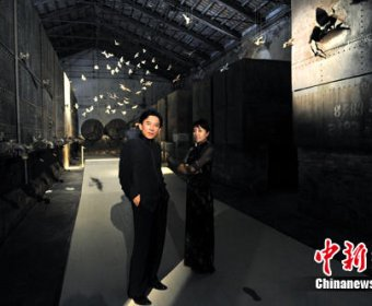 樊跃王潮歌跨界建筑展《风墙》惊艳威尼斯