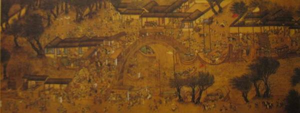 辽宁博物馆镇馆之宝《清明上河图》参展上海世博会