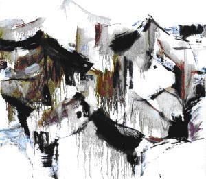 东西:画家谢麟的白与黑