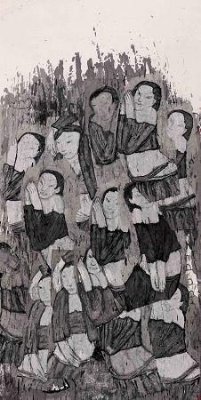 首届林州水墨双年展在沪开幕