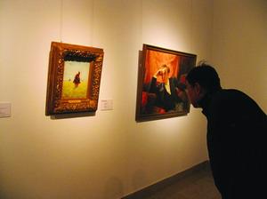 列宾油画亮相中国美术馆