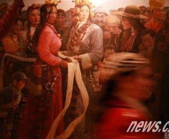 """""""雪域高原:中国绘画作品展""""在米兰开幕"""