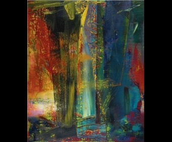 里希特《抽象画》拍出3040万英镑 创个人新纪录