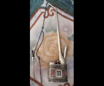时尚收藏:清晚期水烟袋