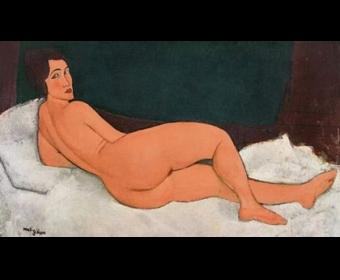 估价近10亿元,莫迪里安尼《向左侧卧的裸女》亮相