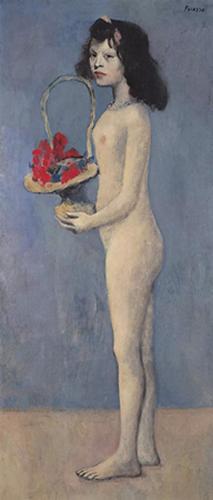 巴布罗·毕加索 《拿着花篮的女孩》7.32亿元成交刷新毕加索玫瑰时期的作品最高价纪录