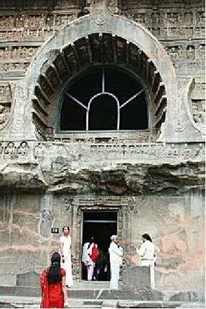 印度Ajanta 石窟